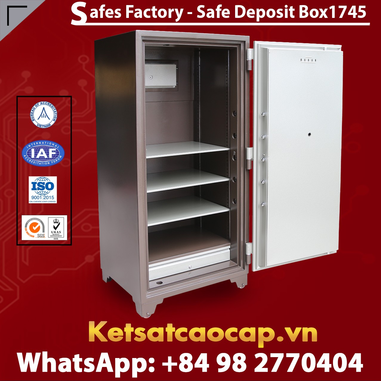 Bank Safes Deposit Box