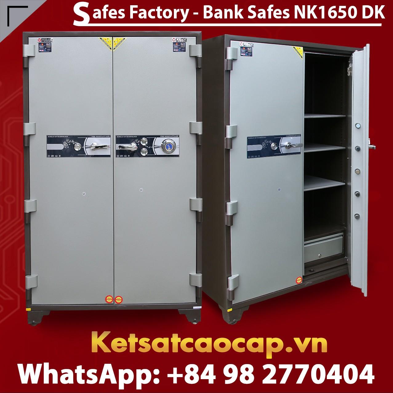 Bank Safes NK 1650 DK Two Door Fingerprint Locking Customized