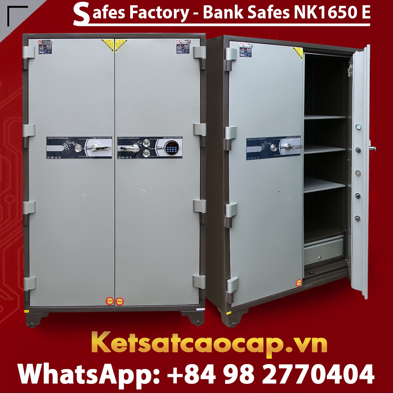 Bank Safes Box Factory