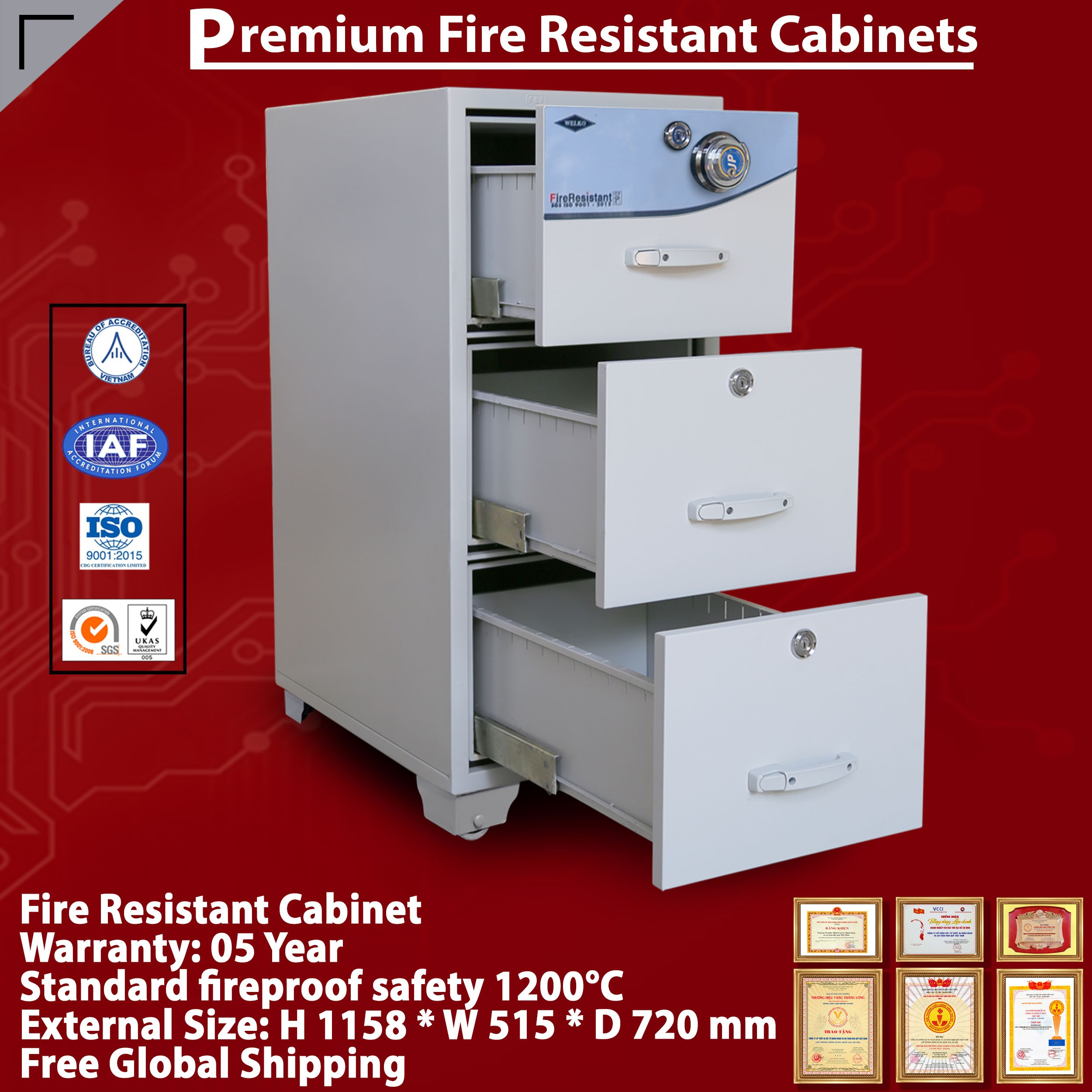 Fire Resistant Cabinet Producer