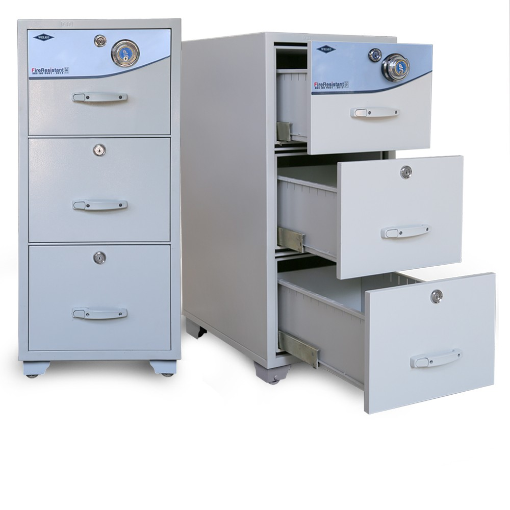 Modern Fire resistant secure storage cabinets
