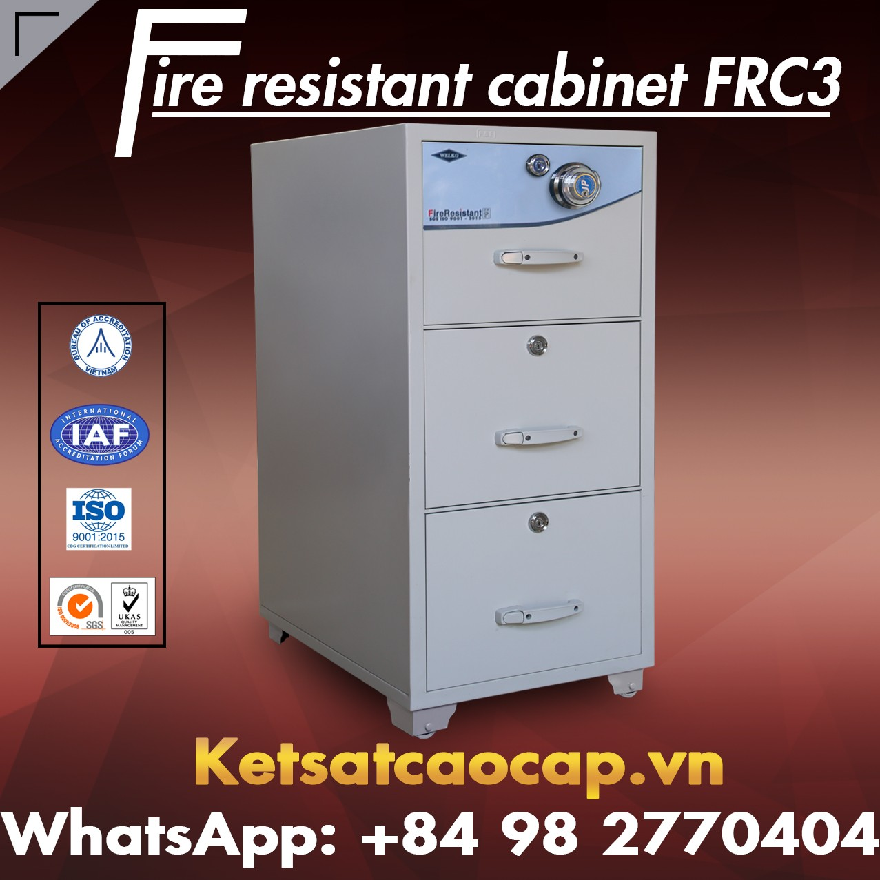 Fire Resistant Cabinet - Top 1 Supplier