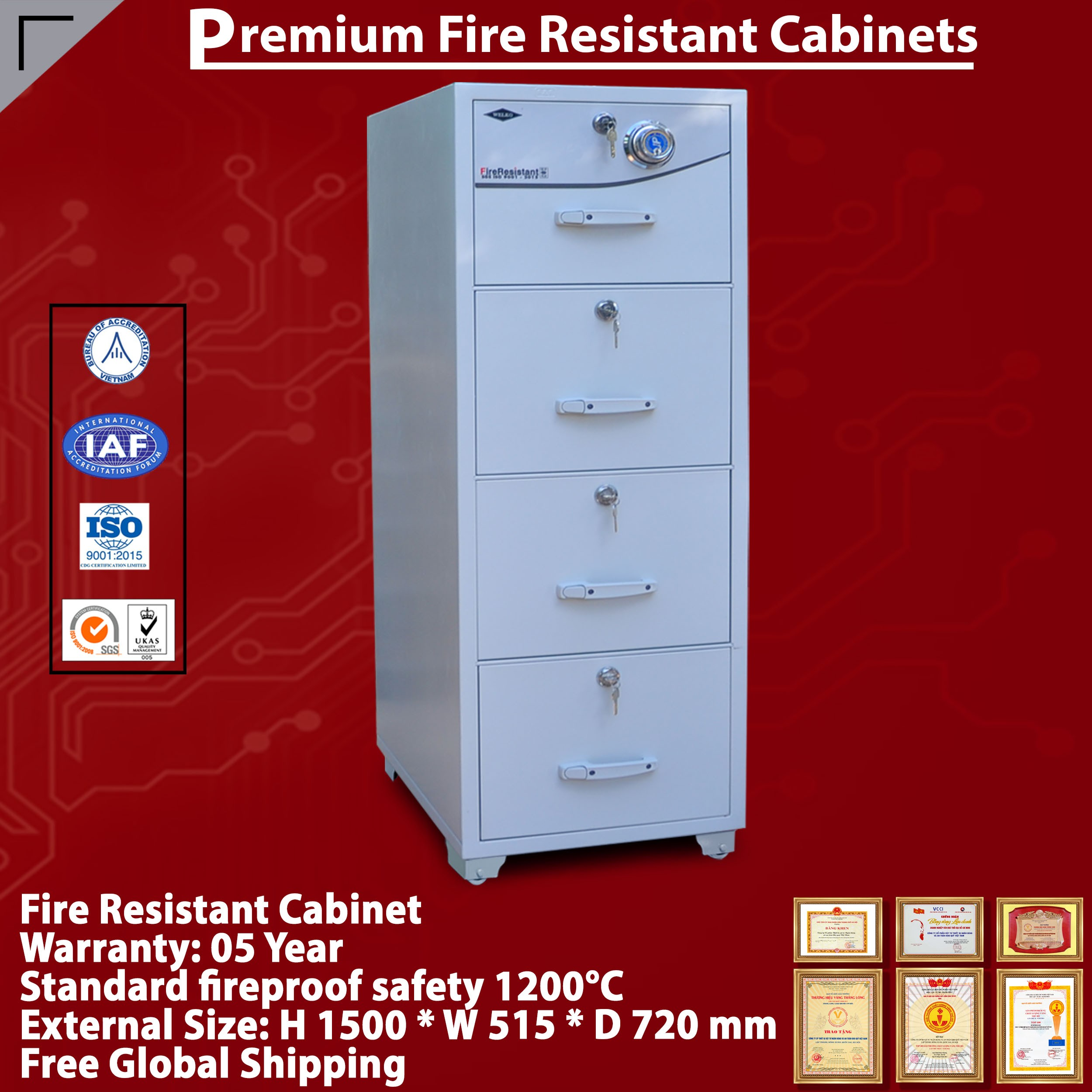 Fireproof Cabinet Supplier