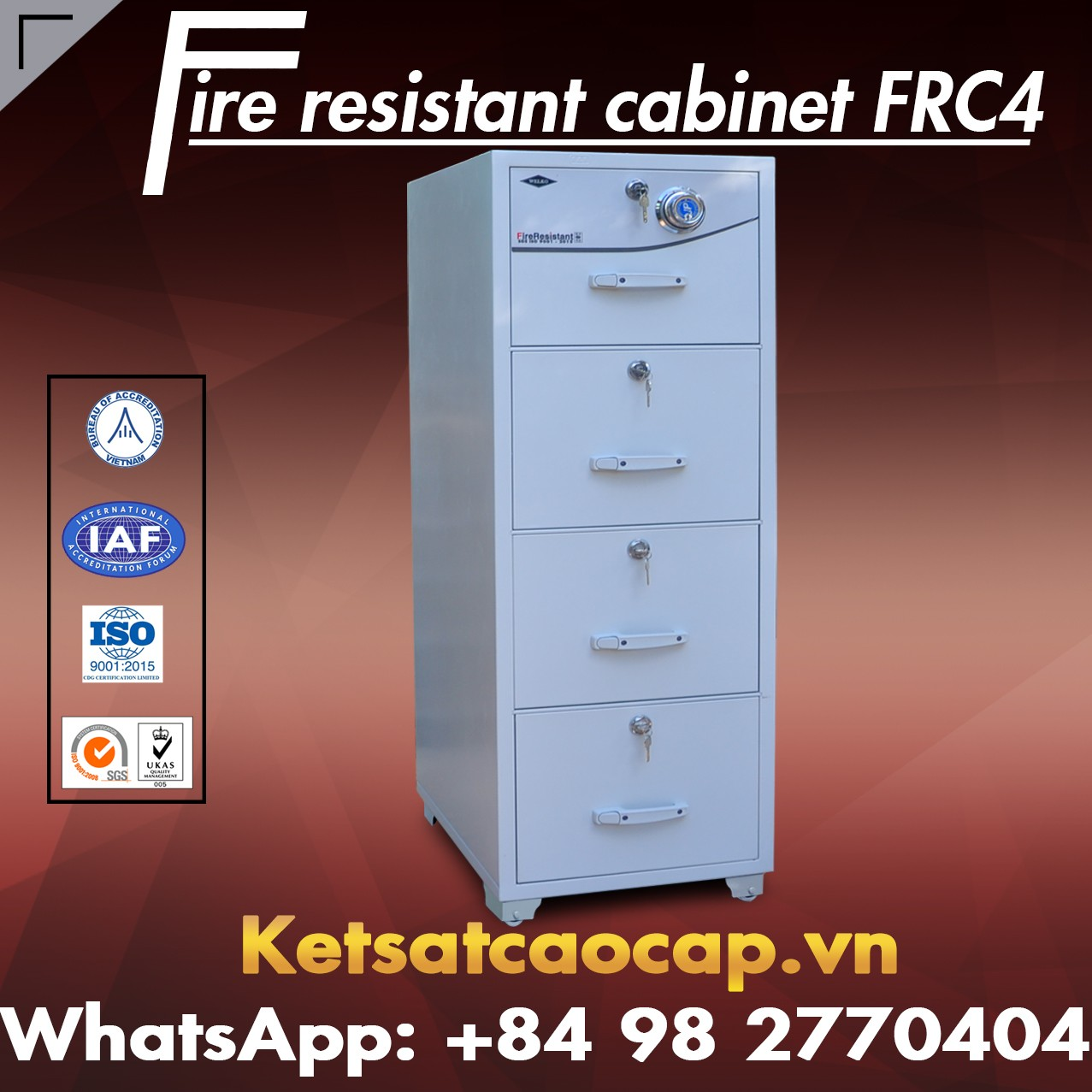 High Quality Fire Resistant Cabinet