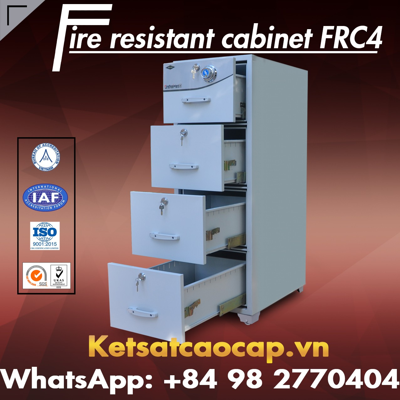 High Quality Fire Resistant Cabinet Cheap