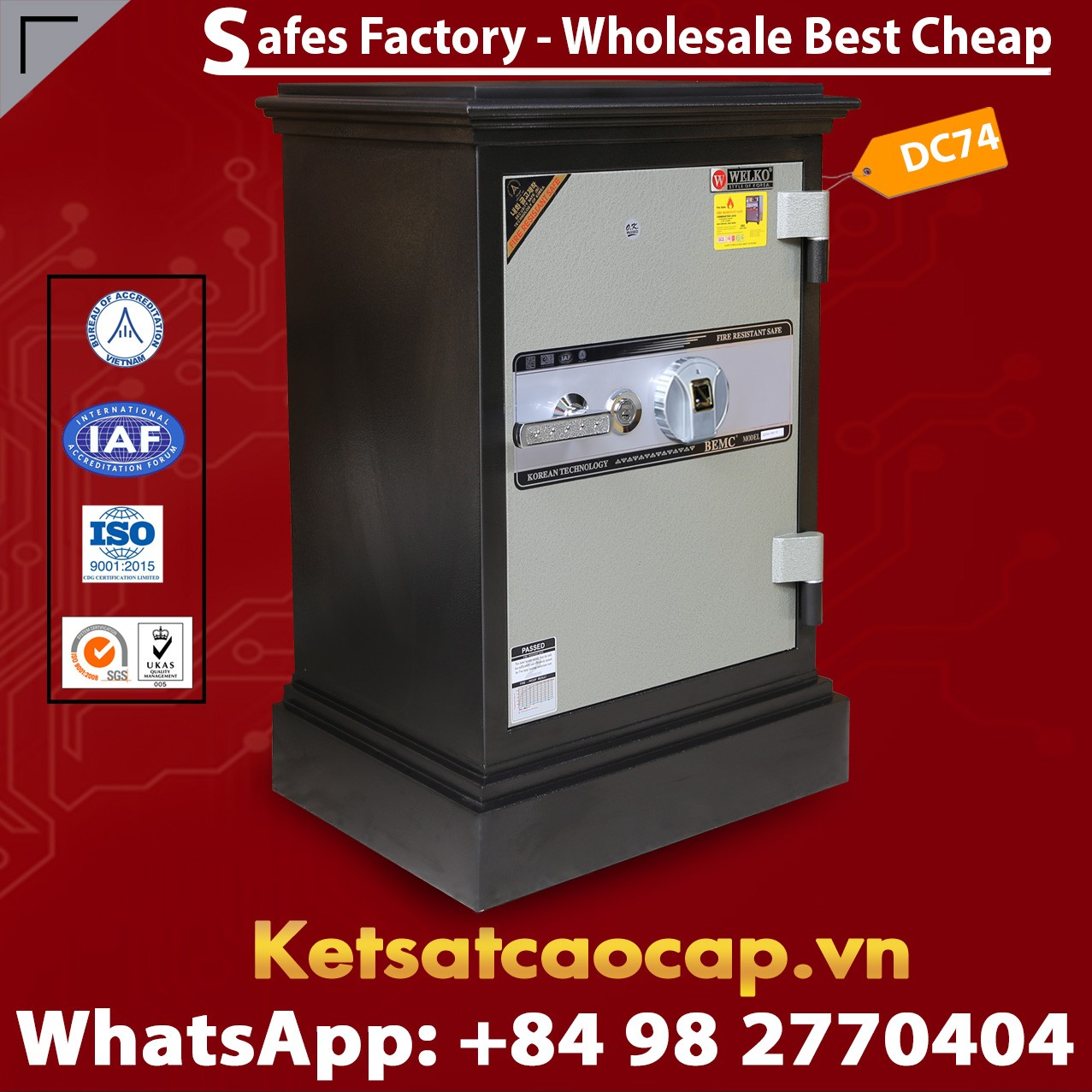 Home Safes made in Viet Nam