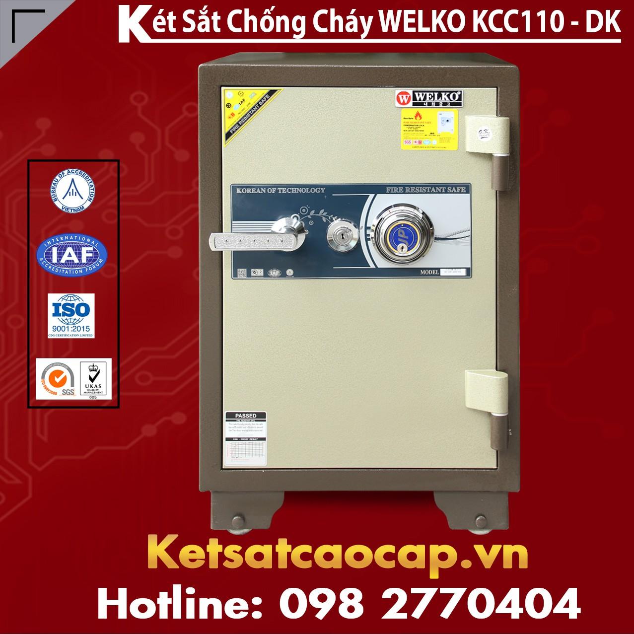 Két Sắt Nhập Khẩu KCC110 DK - Brown