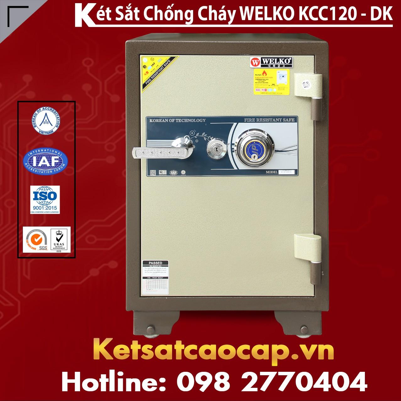 Két Sắt Nhập Khẩu KCC120 DK - Brown