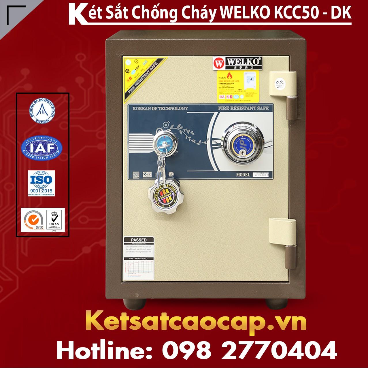 Két Sắt Nhập Khẩu KCC50 DK - Brown