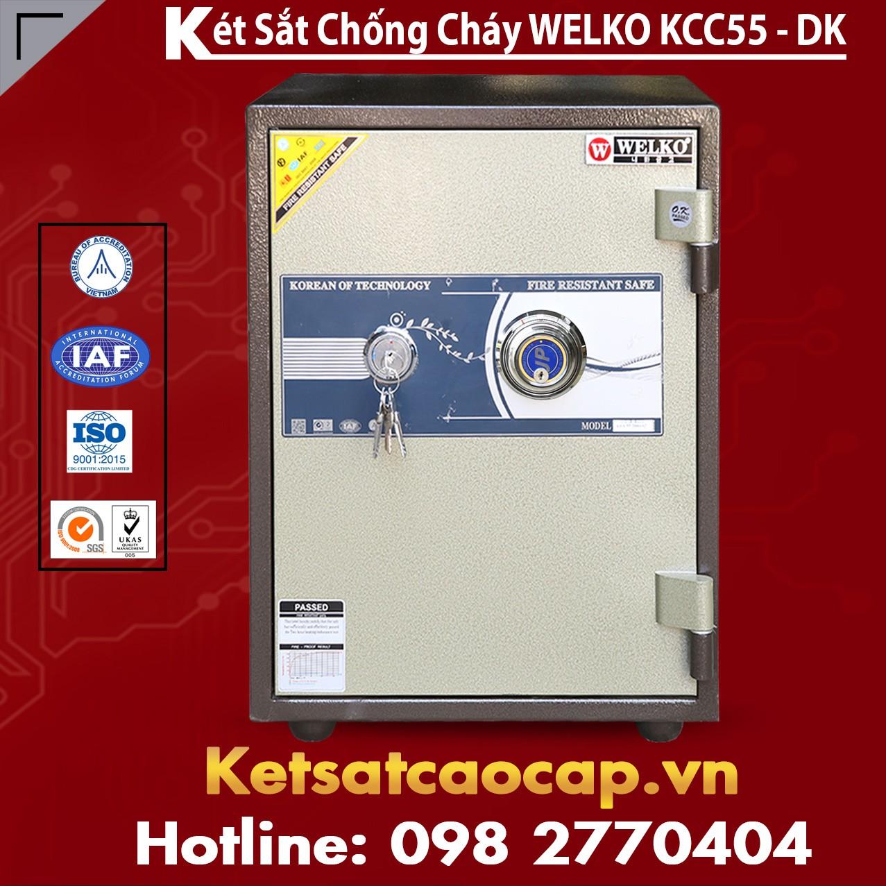 Két Sắt Nhập Khẩu KCC55 DK - Brown