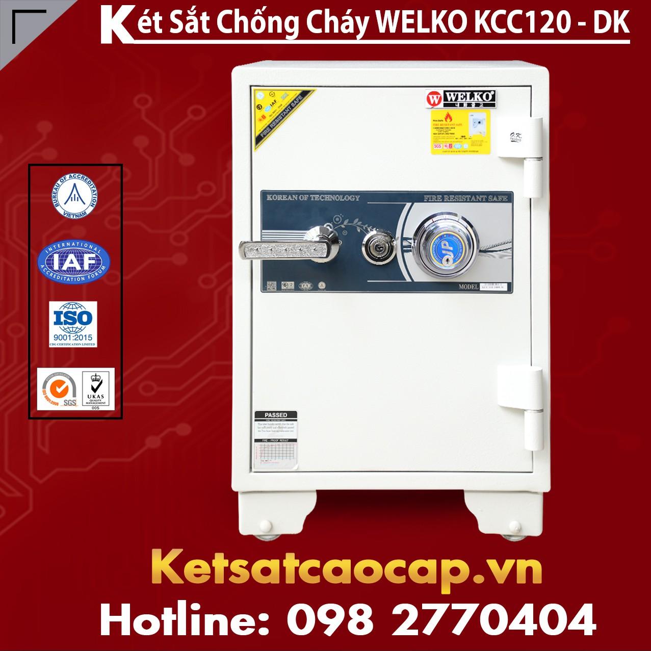 Két Sắt Sài Gòn KCC120 - DK