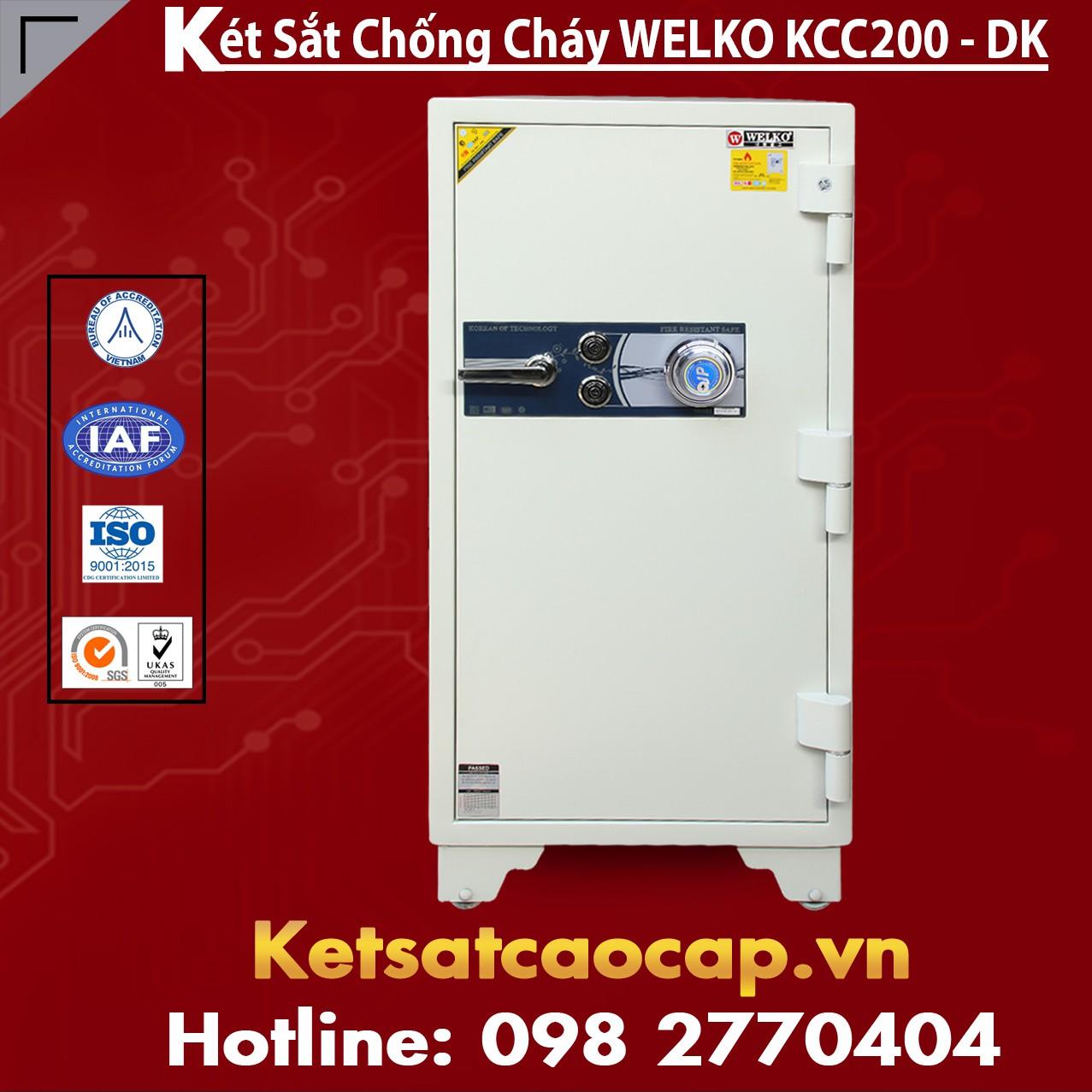 Két Sắt Sài Gòn KCC200 - DK