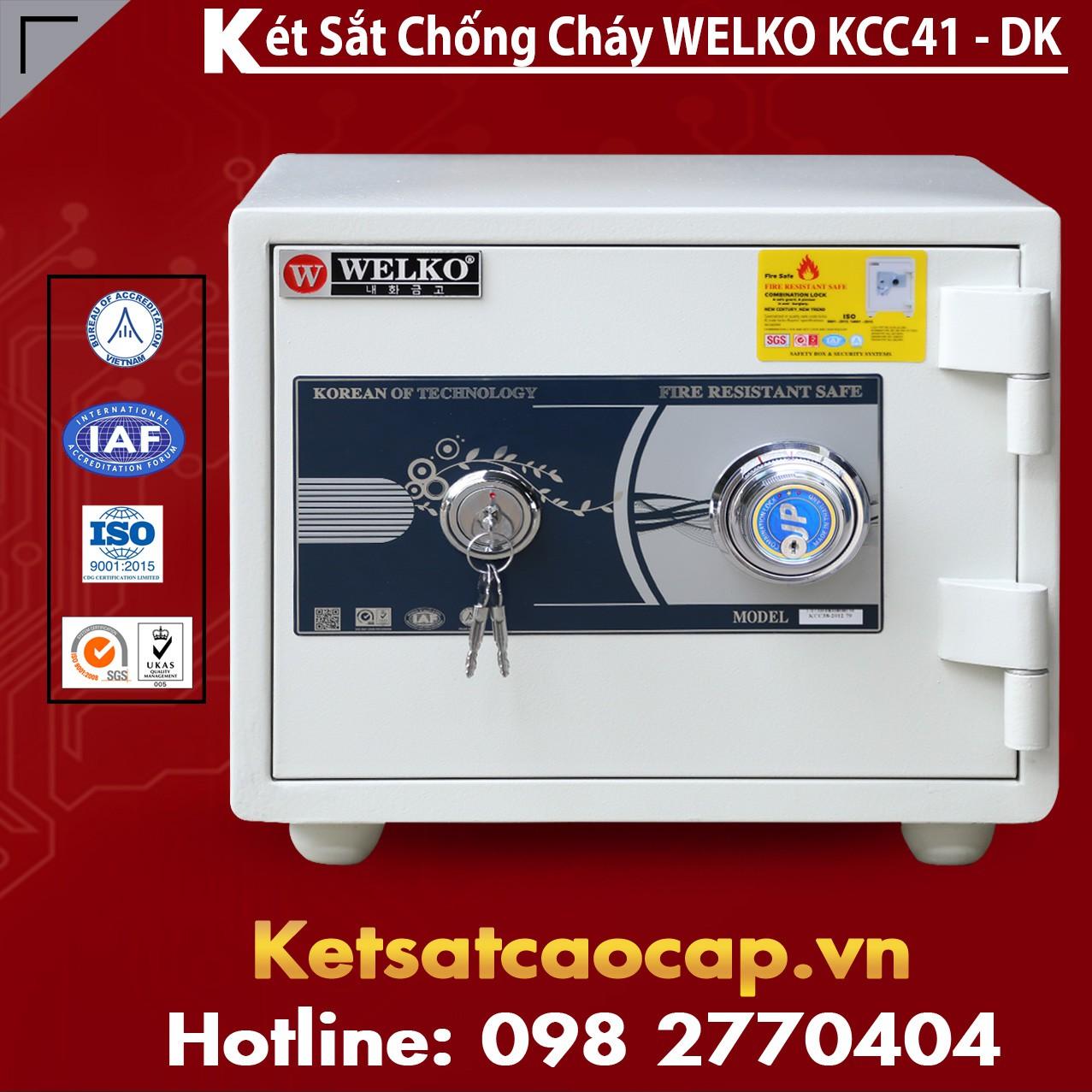 Két Sắt Sài Gòn KCC41 - DK
