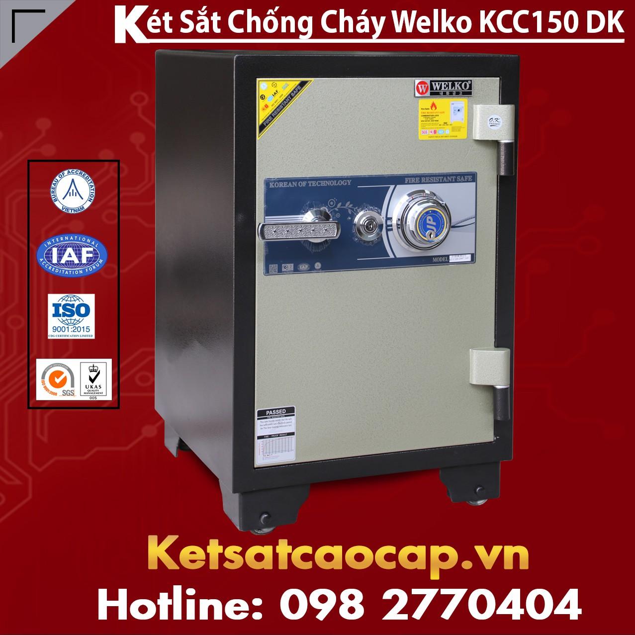 Két Sắt Chống Đập KCC150 - DK