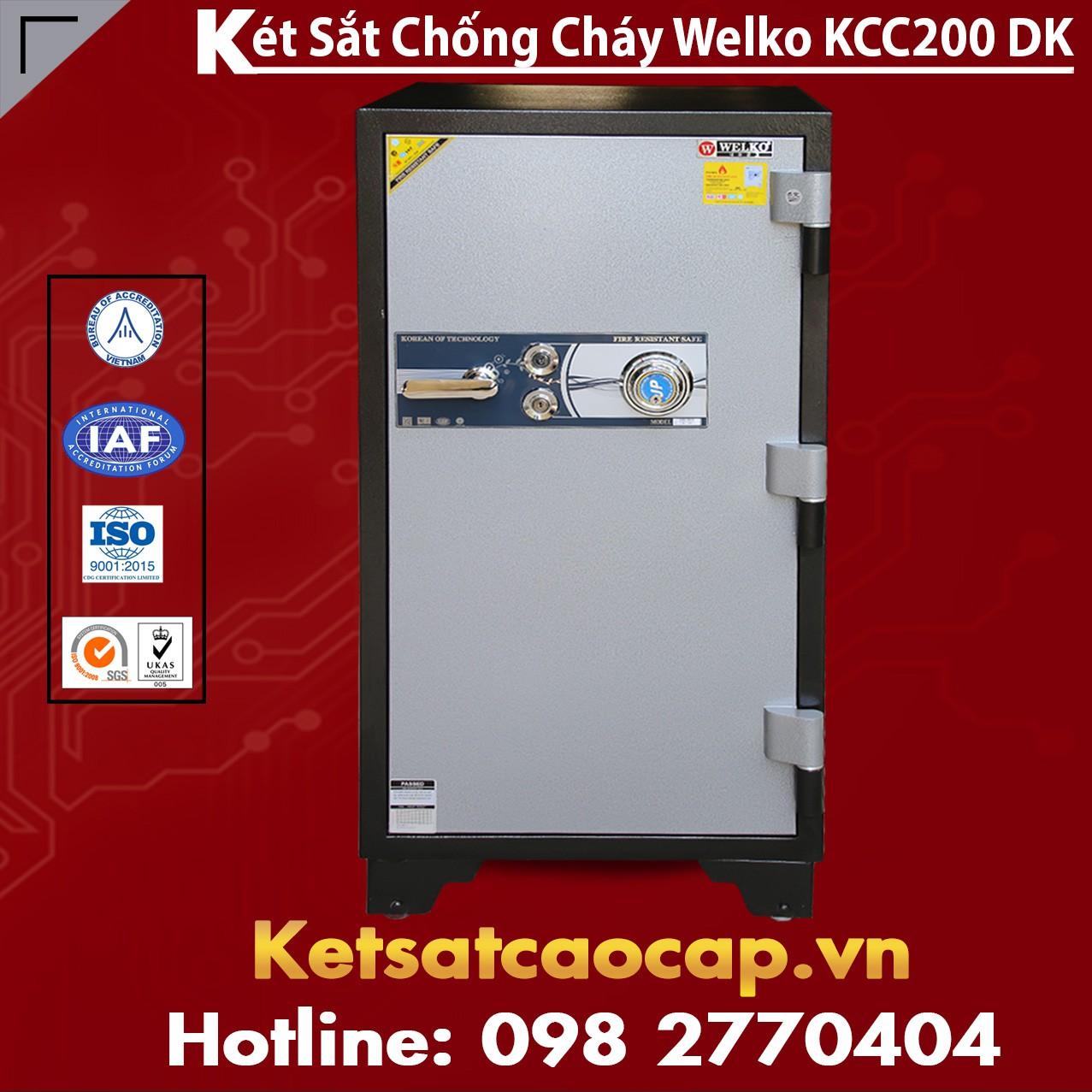 Két Sắt Chống Đập KCC200 - DK