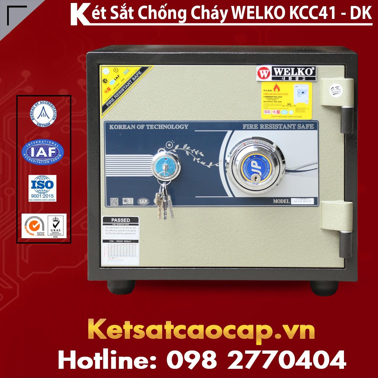 Két Sắt Chống Đập KCC41 - DK