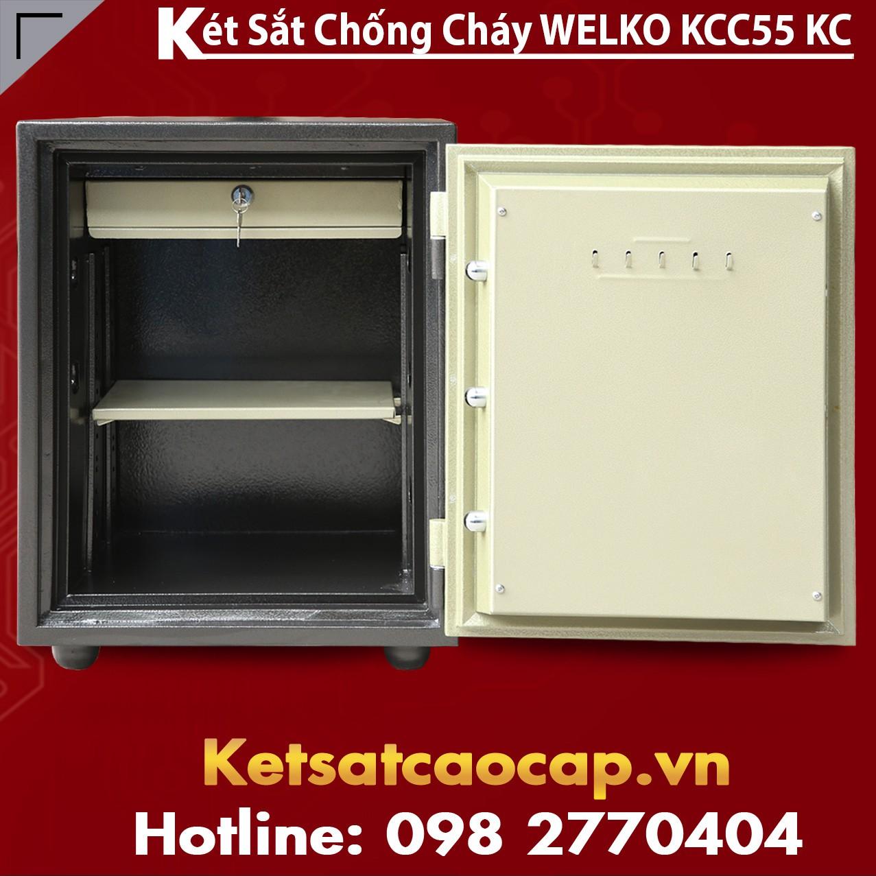 Két Sắt Chống Đập KCC55 - DK