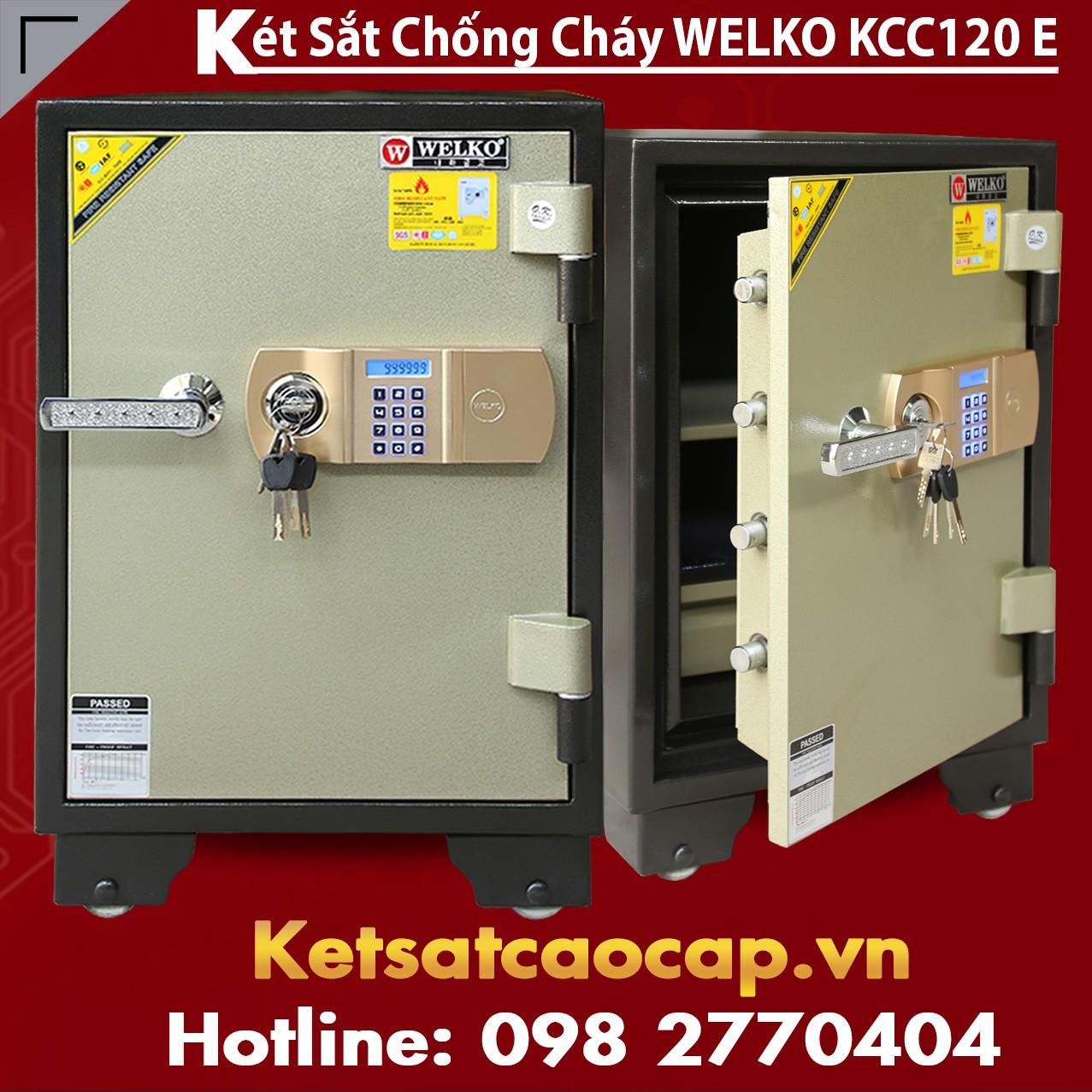 Két Sắt Chống Cháy WELKO KCC120 E