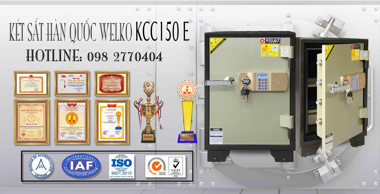 hình ảnh sản phẩm Két Sắt Chống Cháy WELKO KCC150 E
