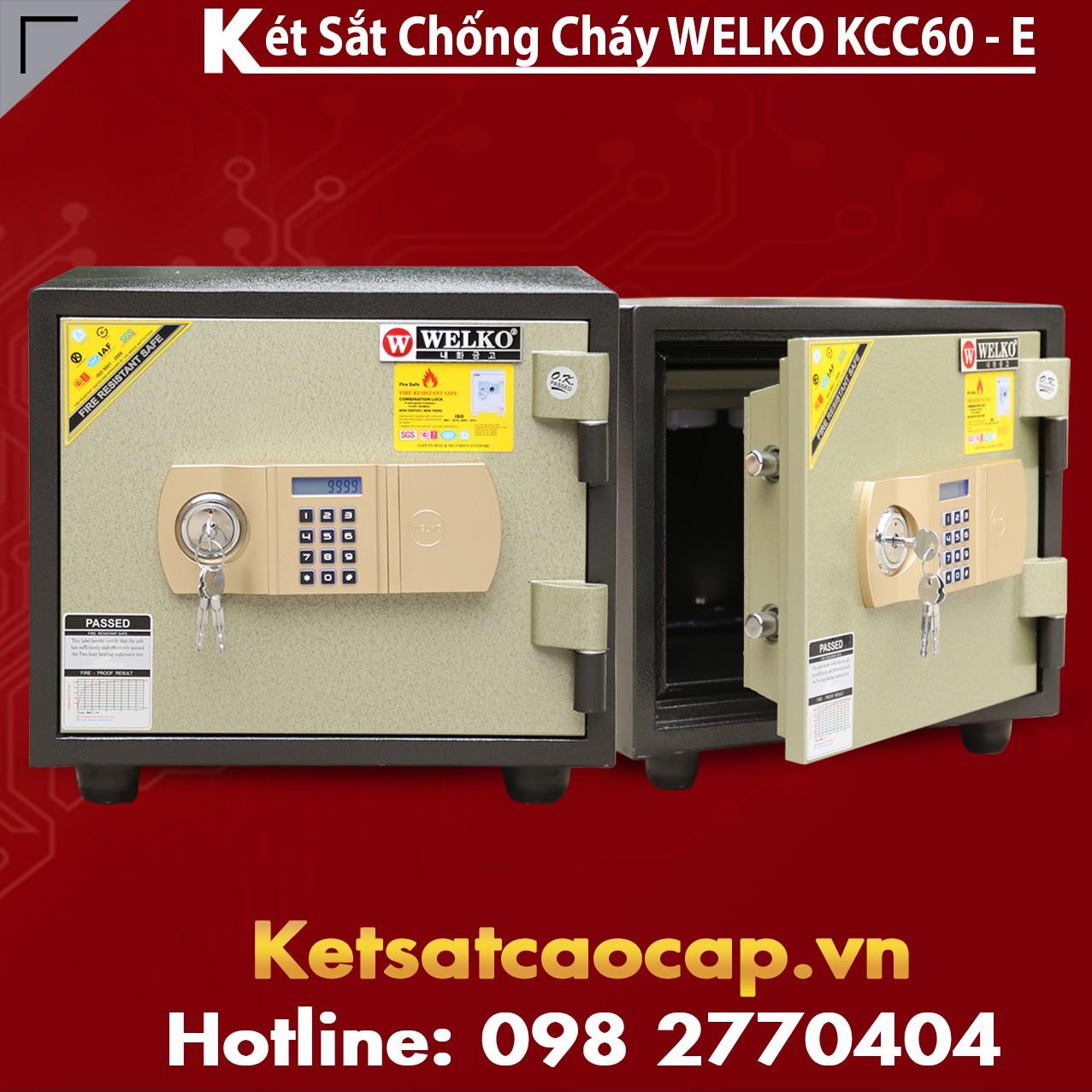 Két Sắt Chống Cháy KCC80 E - GOLD