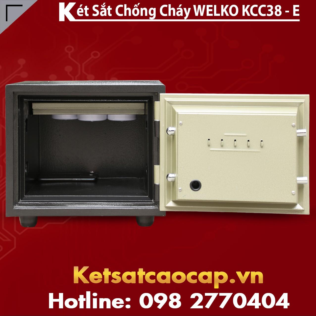 Két Sắt Chống Cháy KCC38 E - GOLD