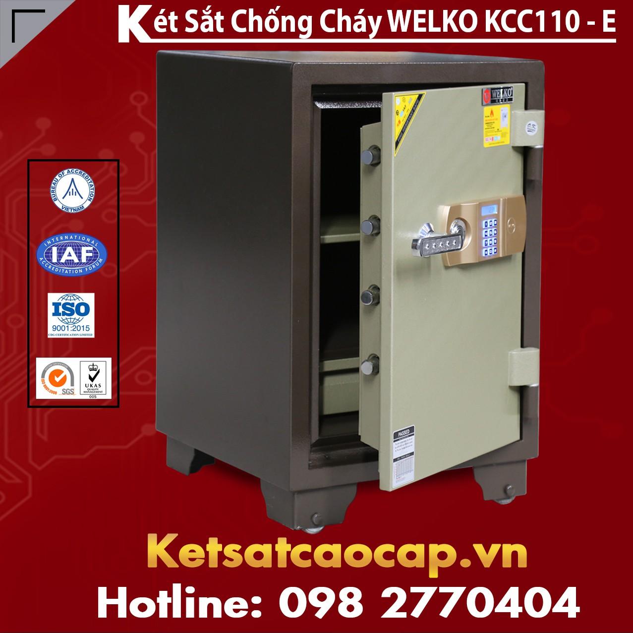 Két Sắt Thông Minh KCC110 E - Brown