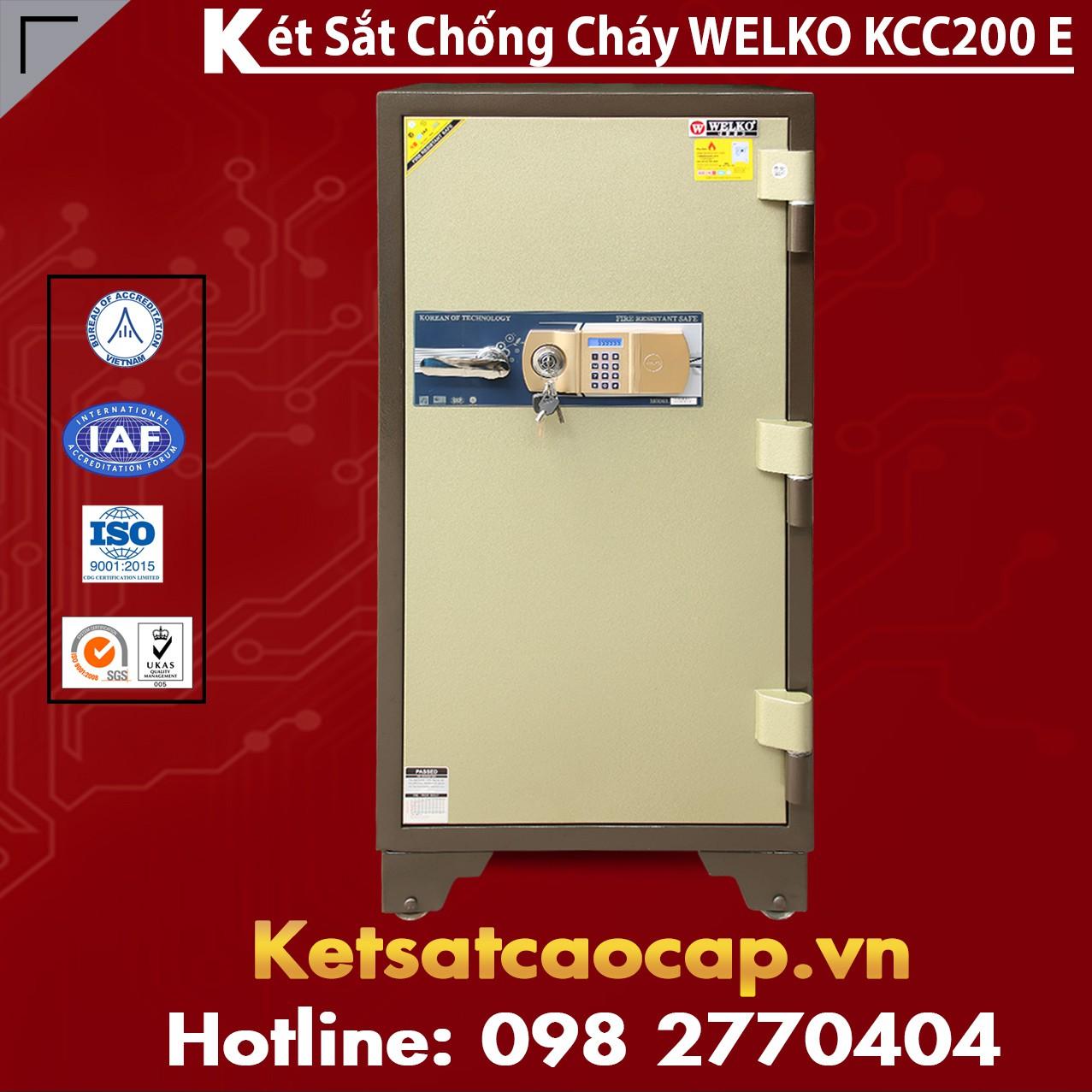 Két Sắt Thông Minh KCC200 E - Brown
