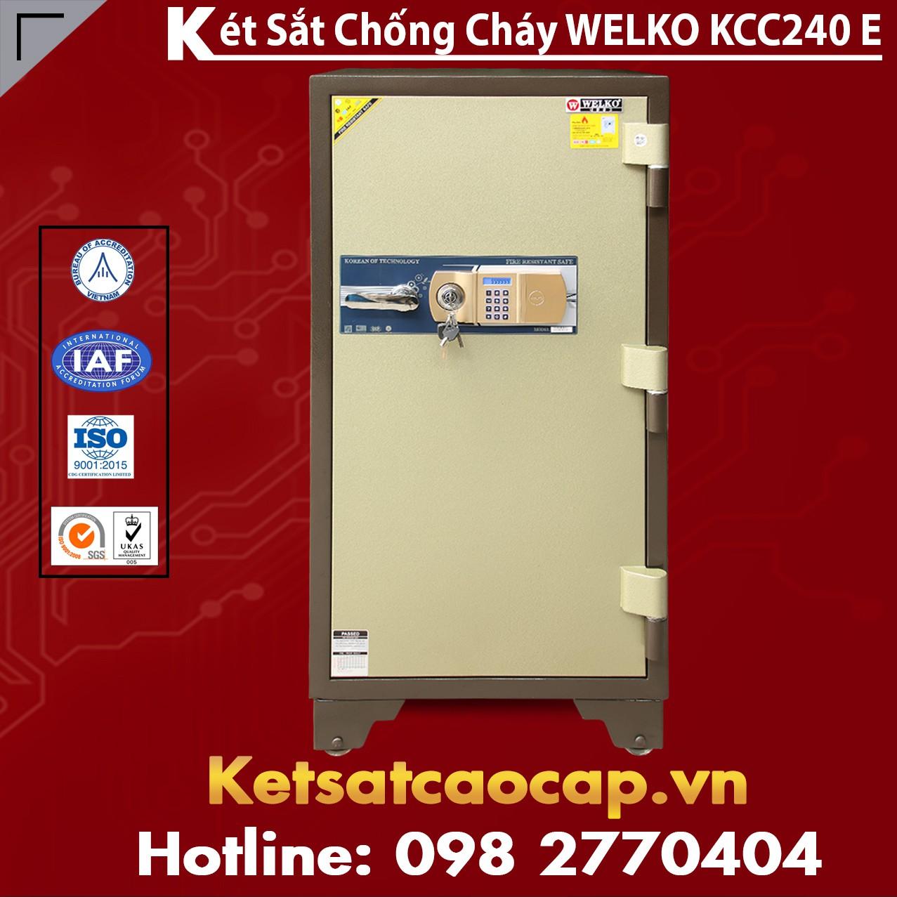 Két Sắt Thông Minh KCC240 E - Brown