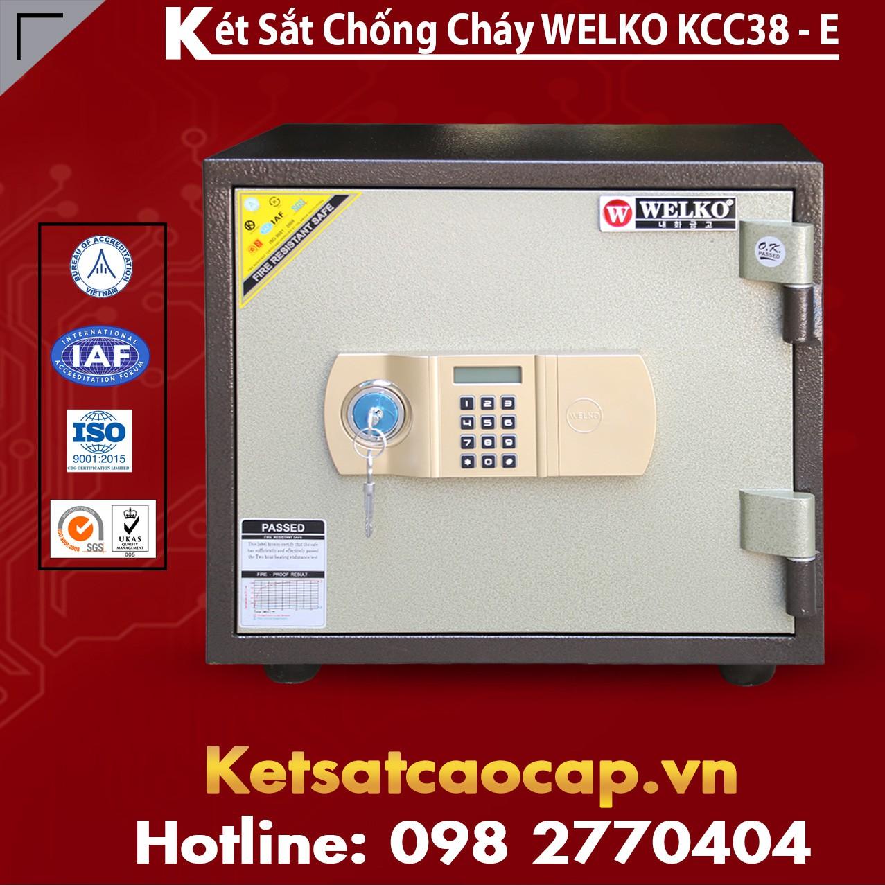 Két Sắt Thông Minh KCC38 E - Brown