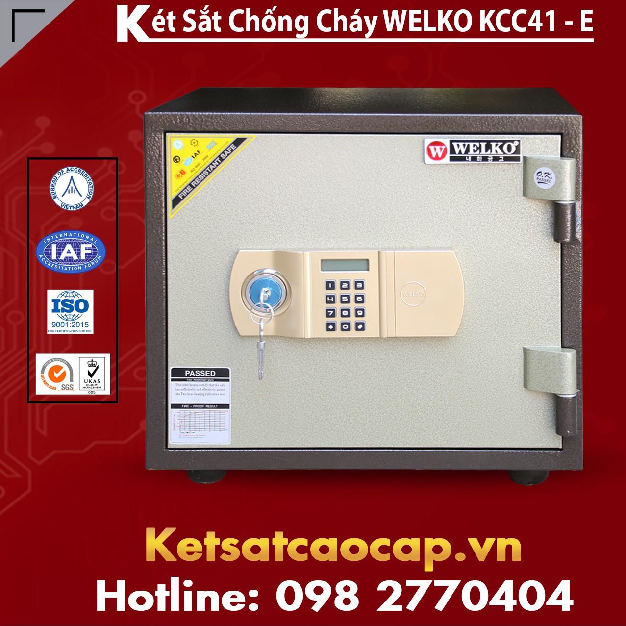 Két Sắt Thông Minh KCC41 E - Brown