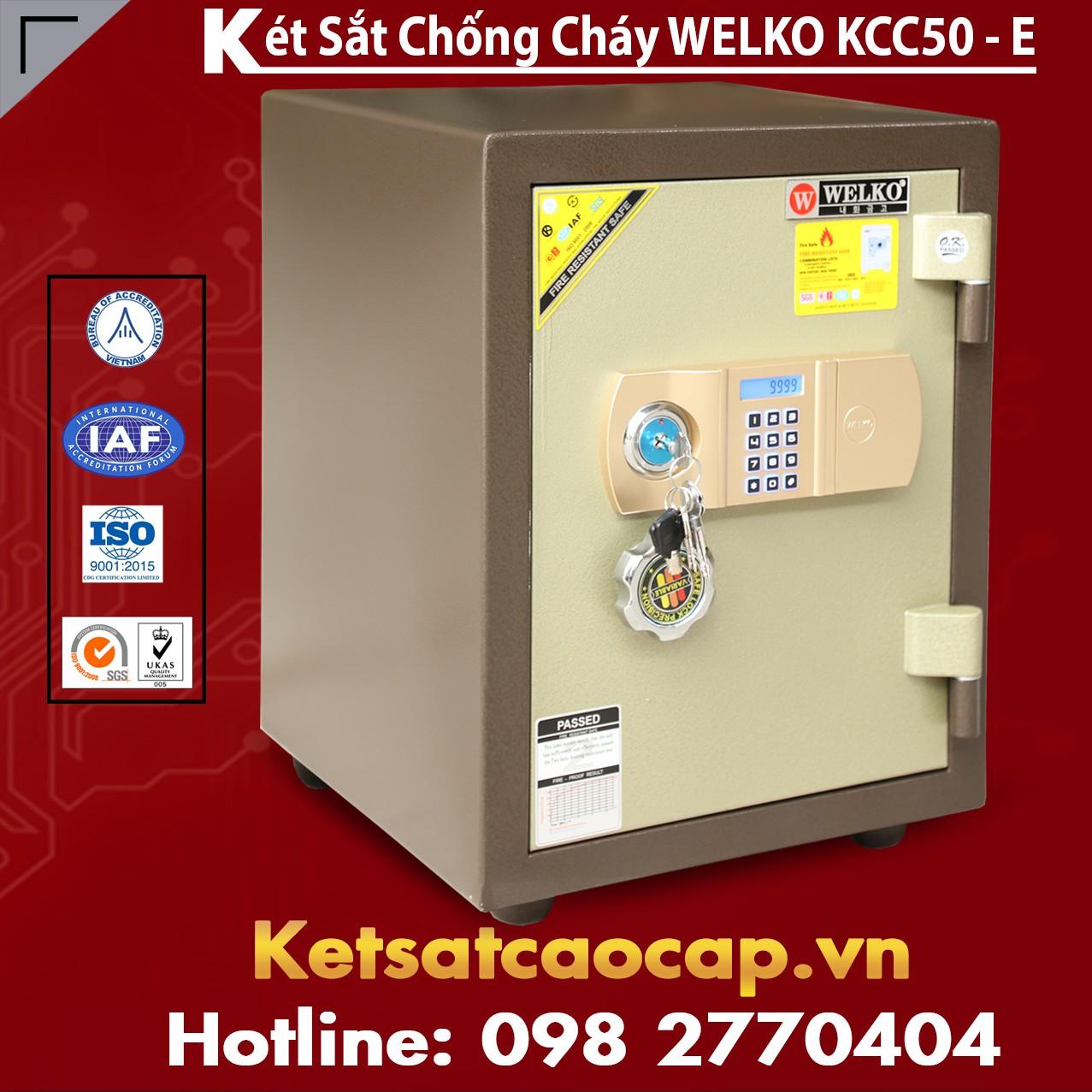 Két Sắt Thông Minh KCC50 E - Brown