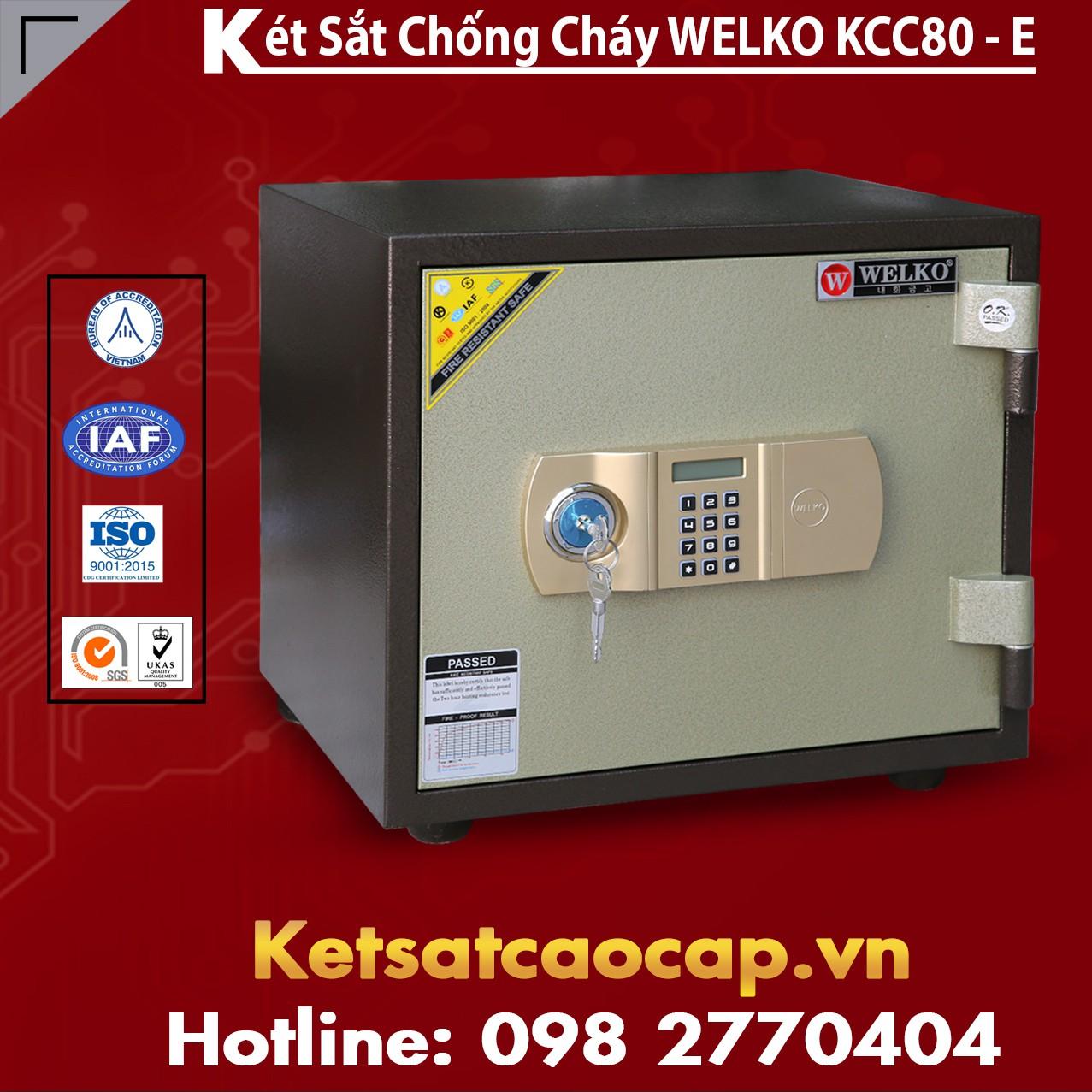 Két Sắt Thông Minh KCC80 E - Brown