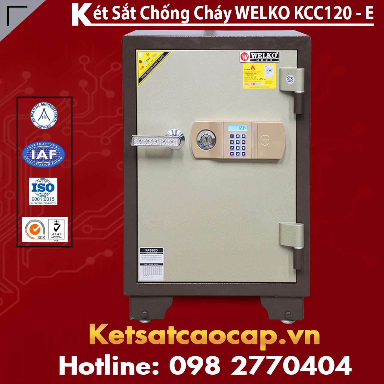 Két Sắt Thông Minh KCC120 E - Brown
