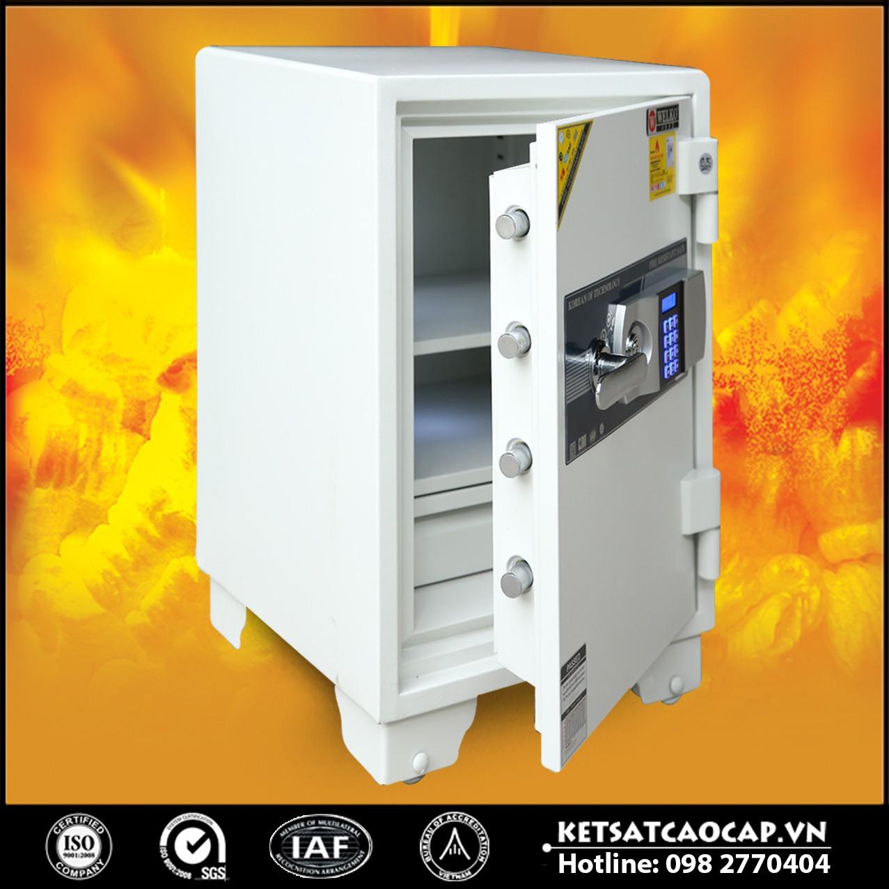 Két Sắt Giá Rẻ LX630 E Silver - White