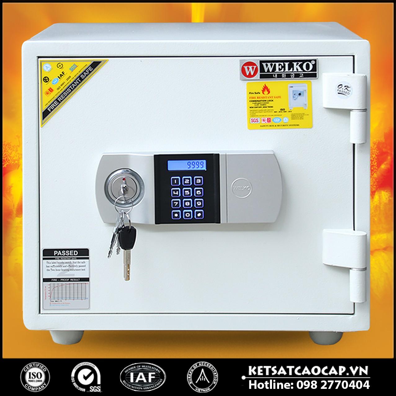 Két Sắt Giá Rẻ LX360 E Silver - White