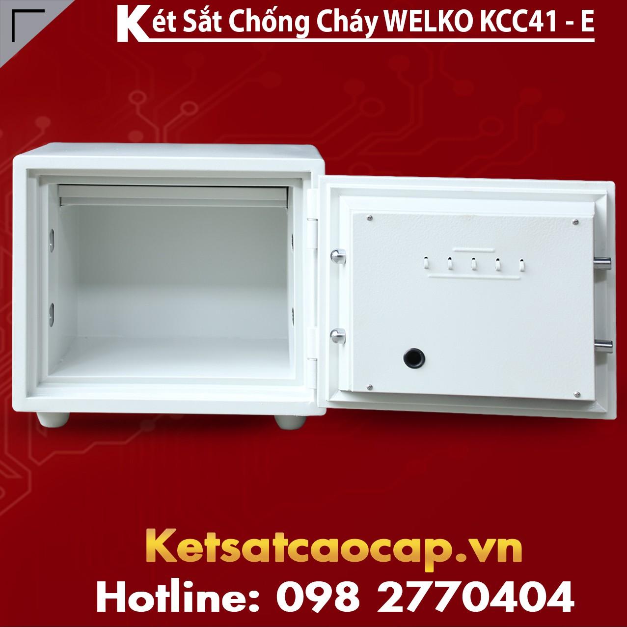 Két Sắt Giá Rẻ KCC41 E Silver - White