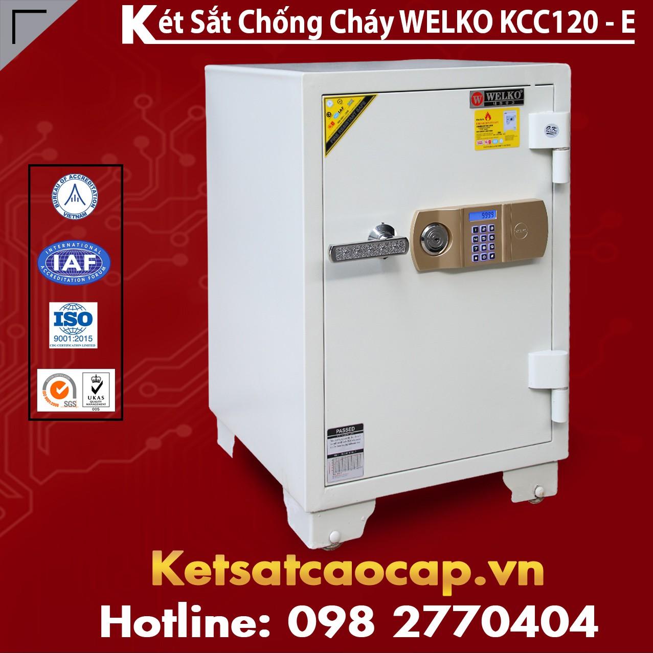 Két Sắt Thần Tài WELKO KCC120 - E Gold