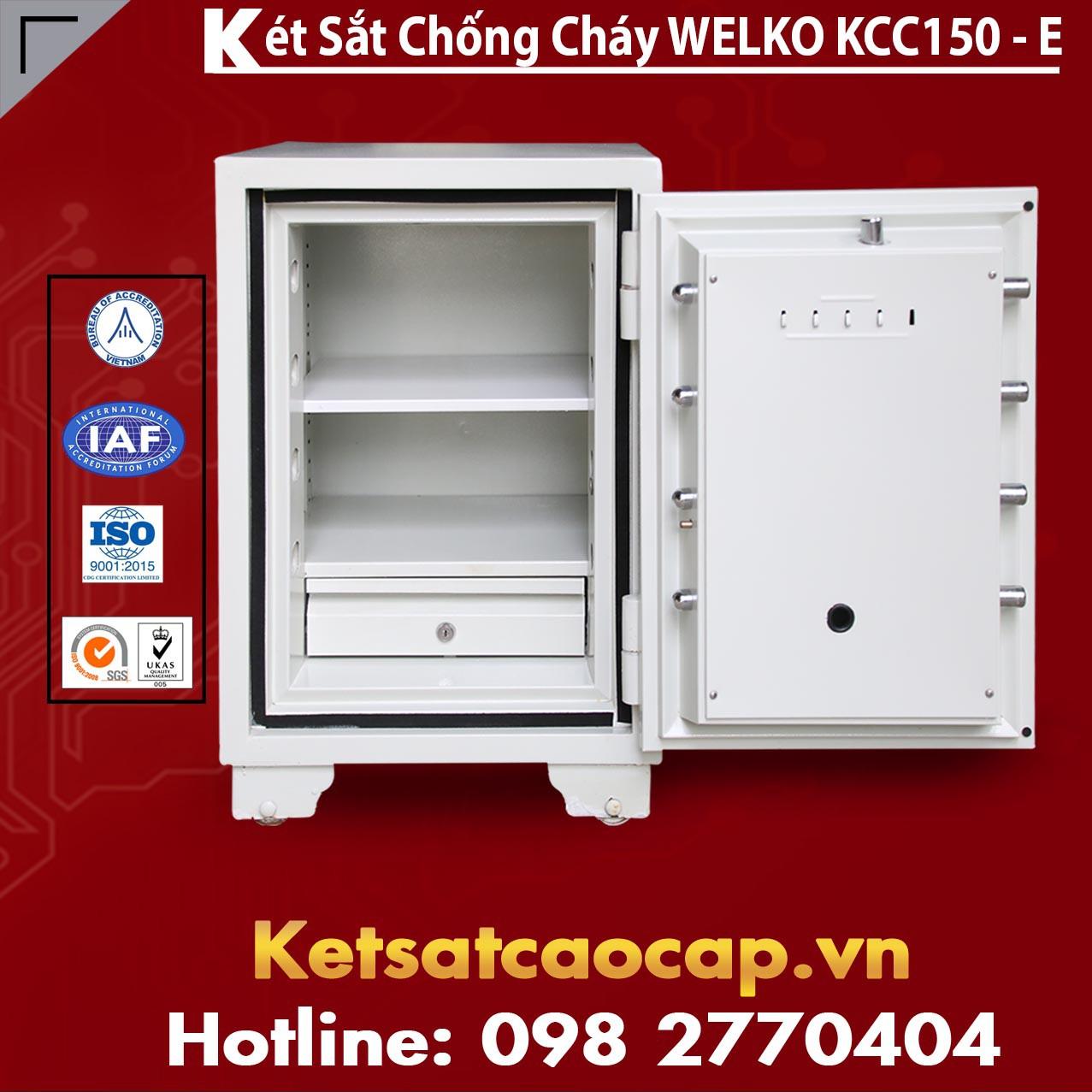 Két Sắt Thần Tài WELKO KCC150 - E Gold