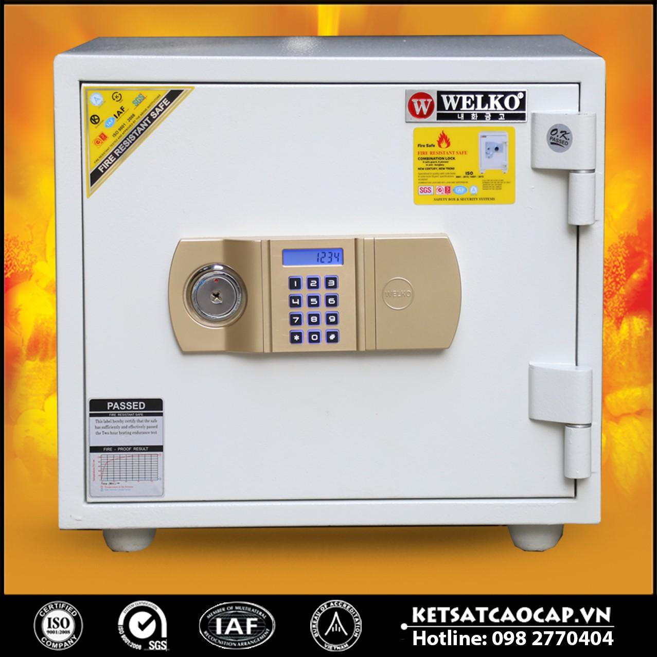 Két Sắt Thần Tài WELKO LX360 - E Gold