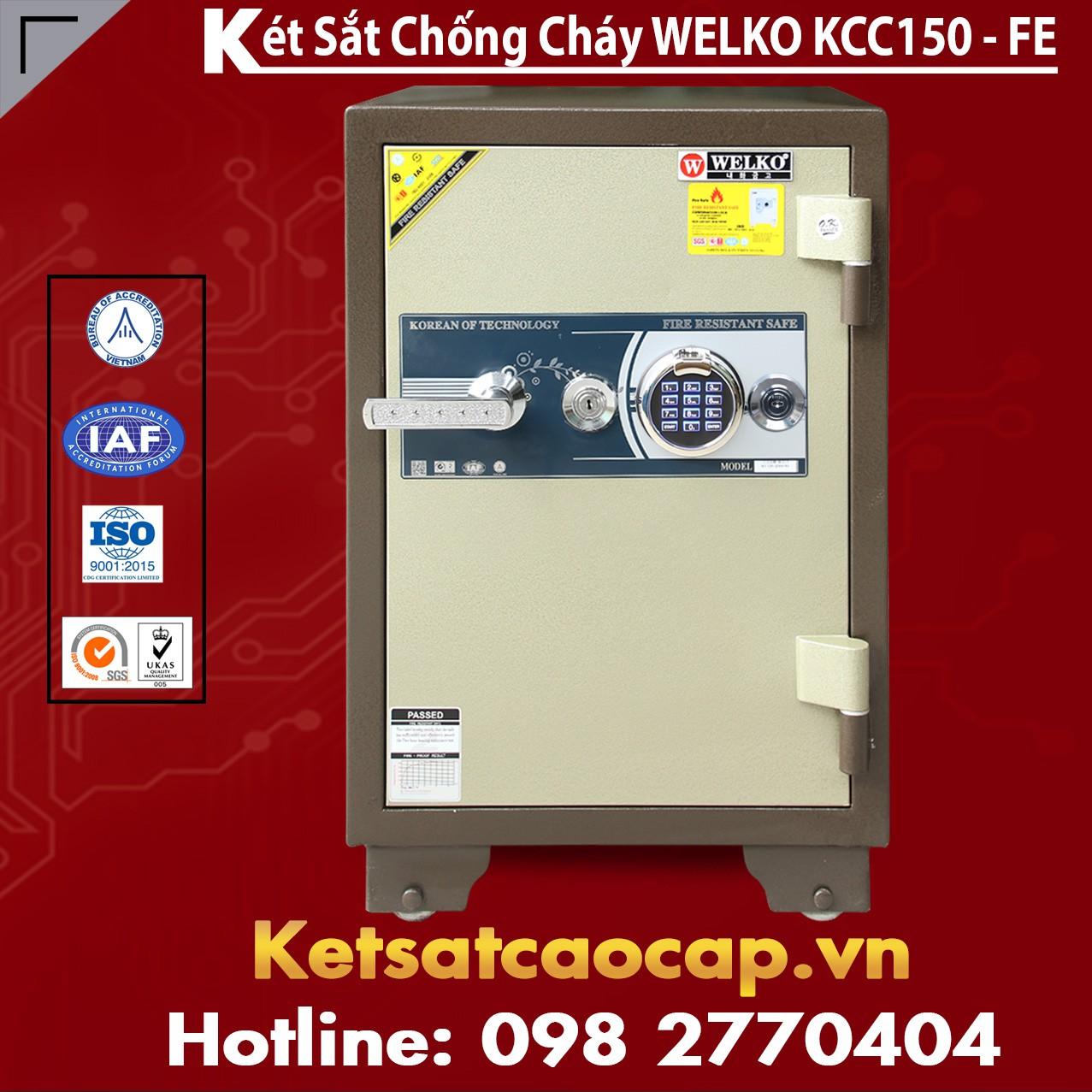 Két Sắt Welko KCC150 FE - Brown