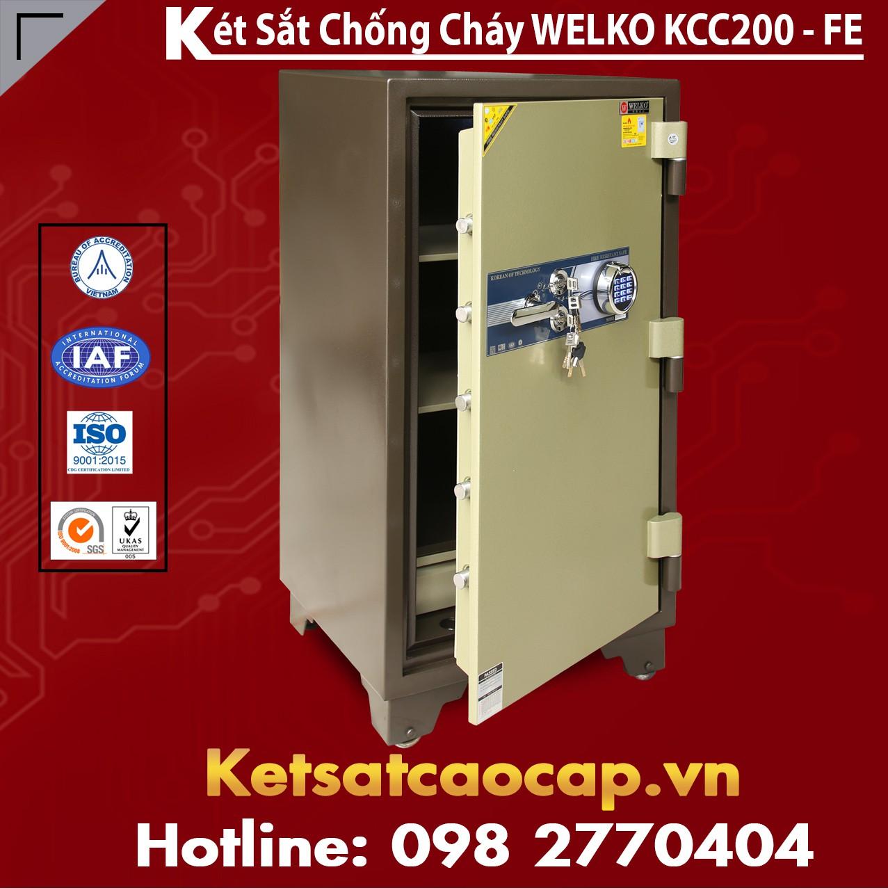 Két Sắt Welko KCC200 FE - Brown