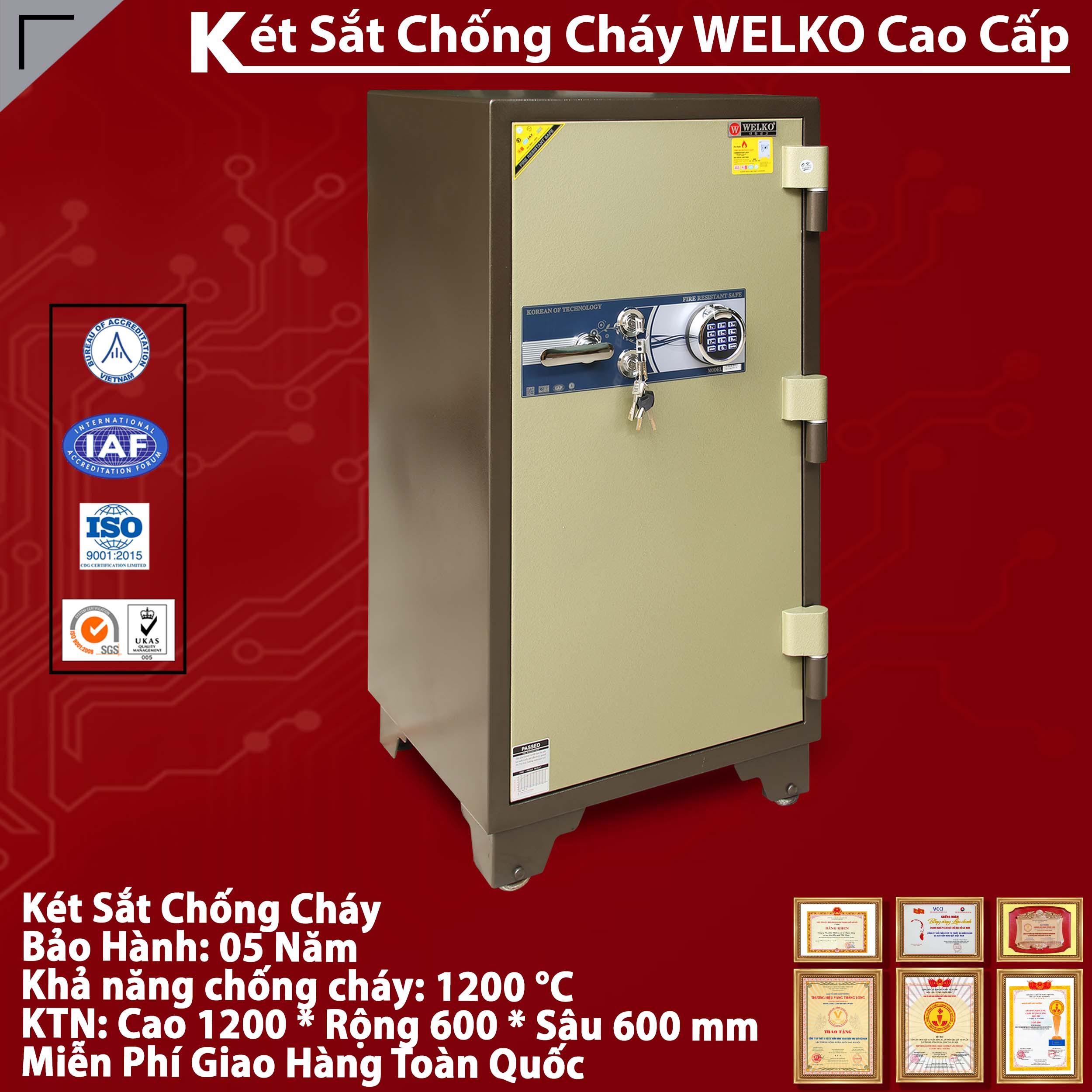 Ket sat Welko chinh hang