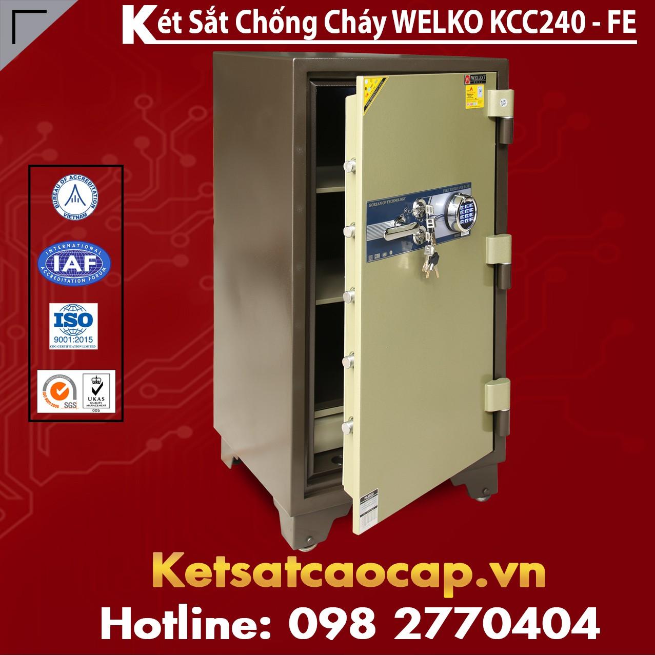 Két Sắt Welko KCC240 FE - Brown