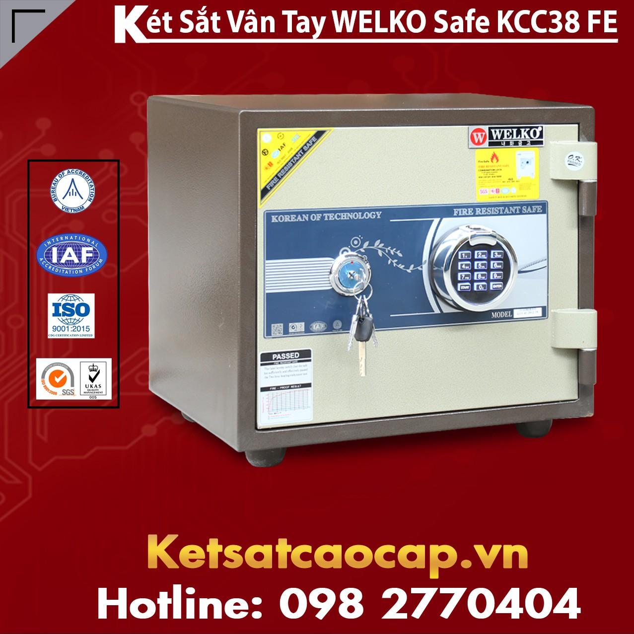 Két Sắt Welko KCC38 FE - Brown