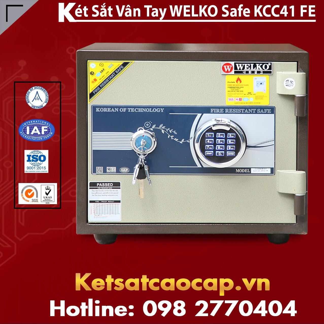 Két Sắt Welko KCC41 FE - Brown