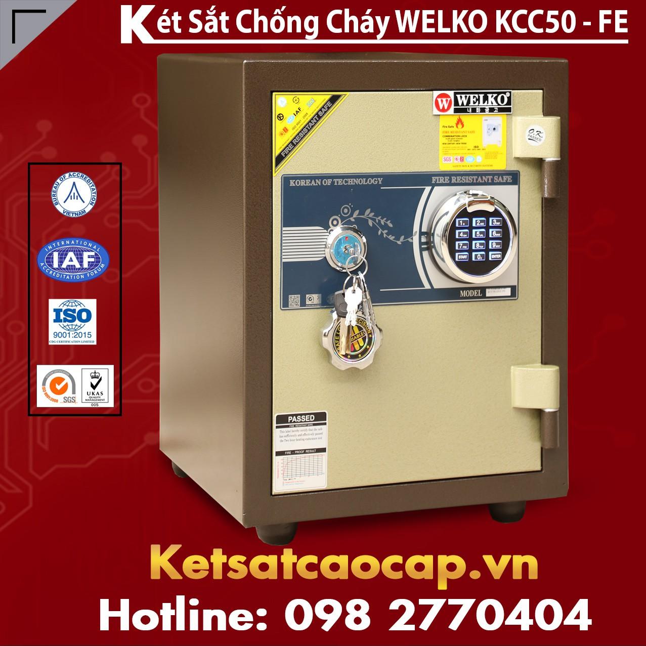 Két Sắt Welko KCC50 FE - Brown