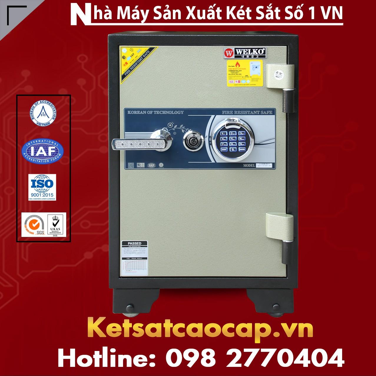Két Sắt Vân Tay WELKO KCC110 FE