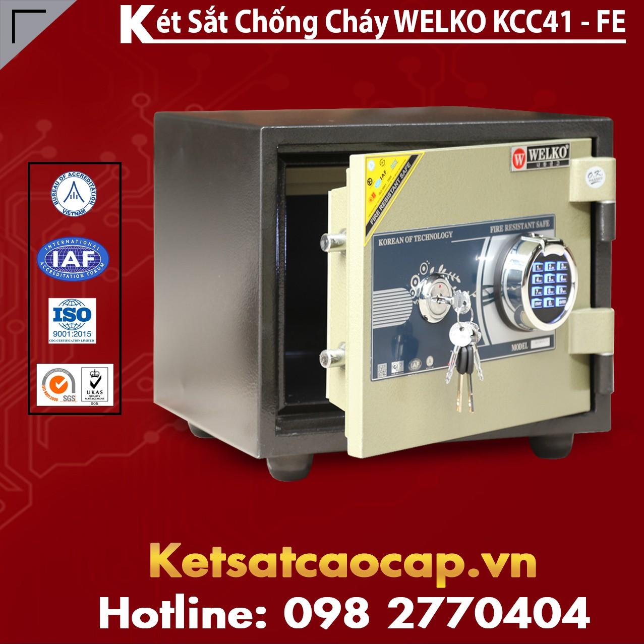 Két Sắt Vân Tay KCC41 - FE