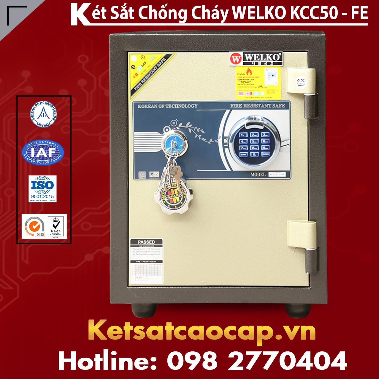 Két Sắt Vân Tay KCC50 - FE