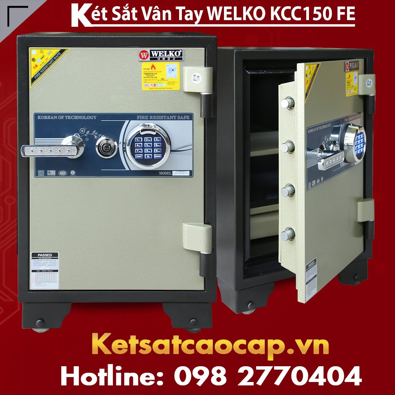Két Sắt Vân Tay WELKO KCC150 FE